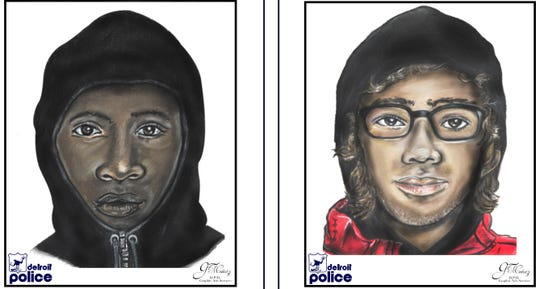 Detroit police are seeking two suspects in the Jan. 25, 2019 fatal shooting at Ashton and Belton on the city's west side.