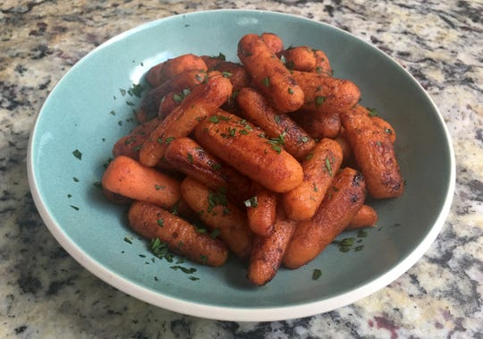 Maple-Roasted Baby Carrots