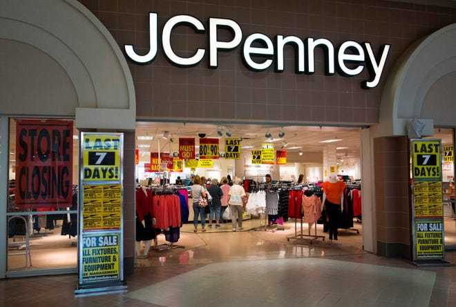 Shoppers view merchandise being sold at discount prices at the JCPenney at the Columbia Mall on July 24, 2017 in Bloomsburg, Pennsylvania.