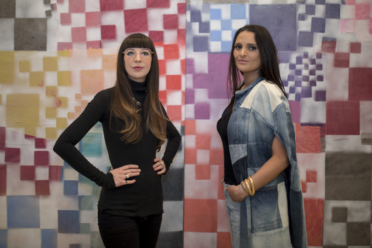 Bridget Finn and Terese Reyes to open new art gallery.