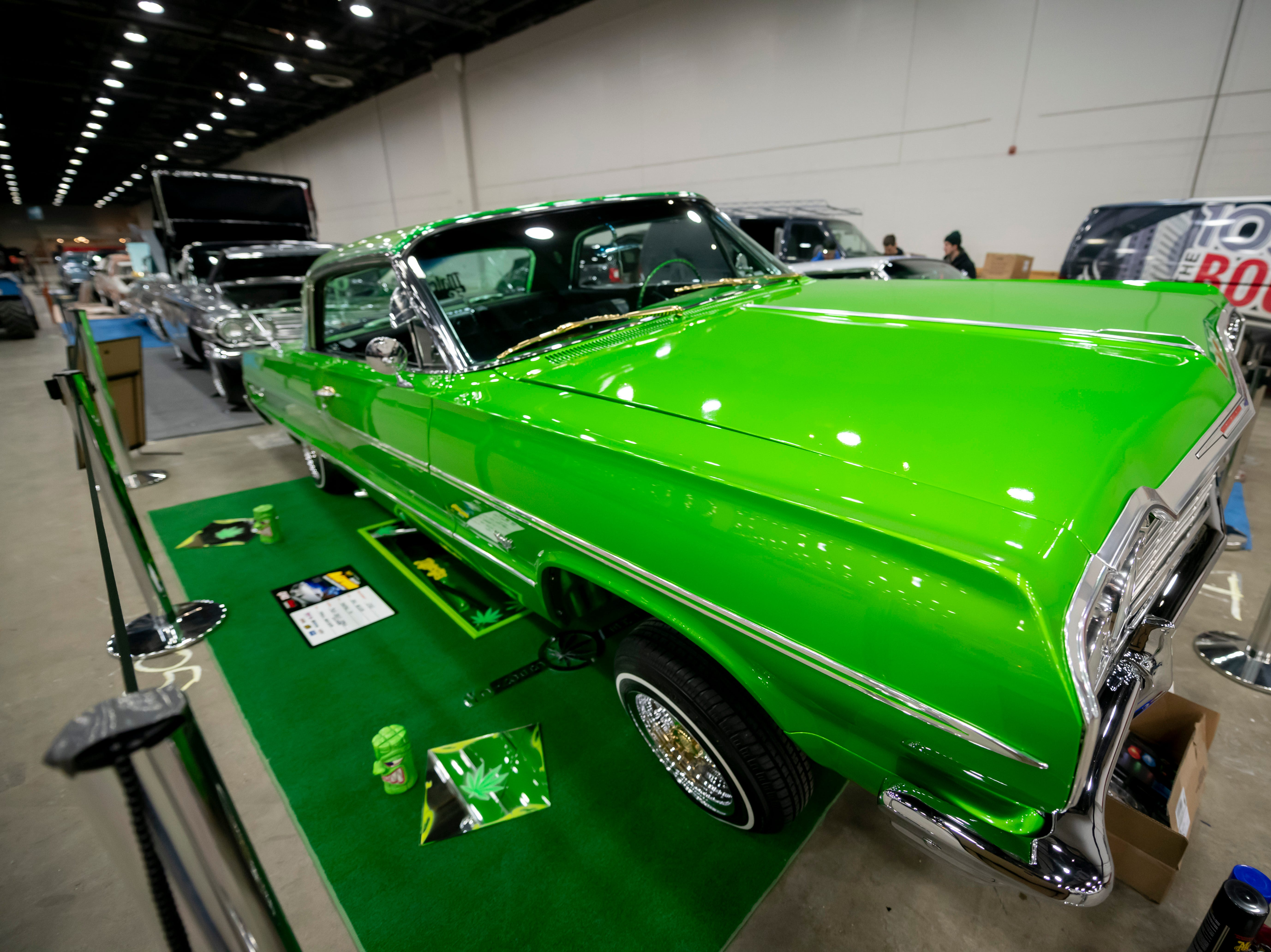 "This 1964 Chevrolet Impala lowrider,  nicknamed ""The Chronic,"" is owned by Eric Nelson, of Pontiac."
