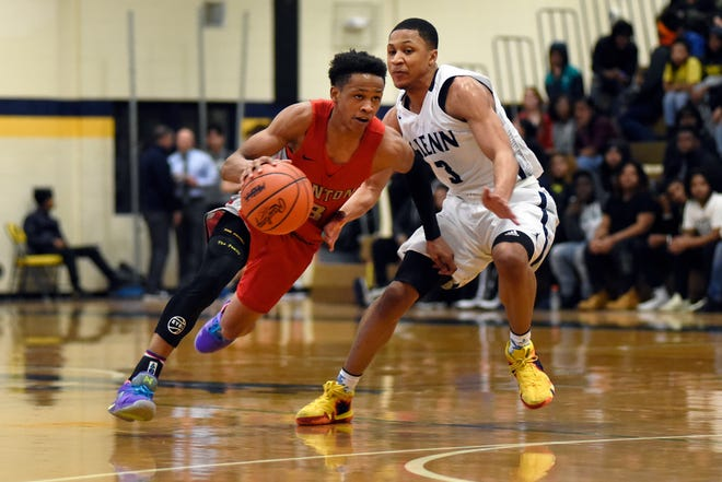 B. Artis White, left, and Canton will face Wayne Memorial in a Division 1 district final at Wayne Memorial.