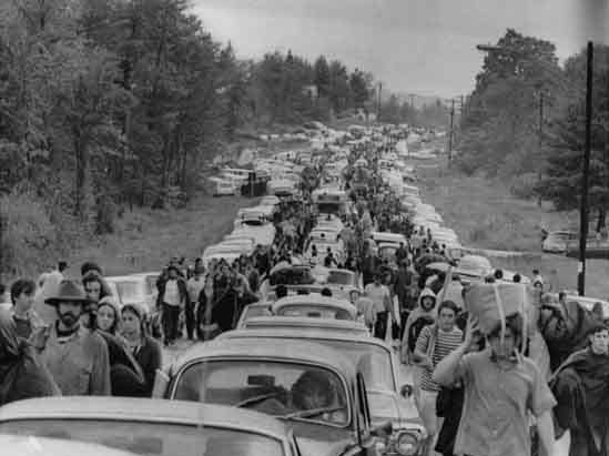 Woodstock Music Festival in Bethel, N.Y., Aug. 1969 file photo.