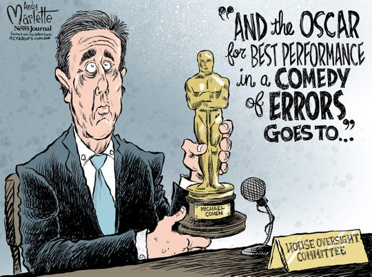 Michael Cohen commentary from Andy Marlette