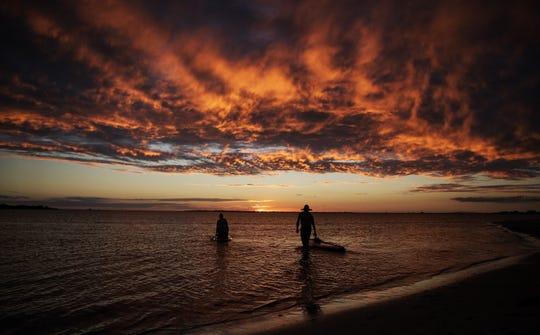 A Southwest Florida sunset.