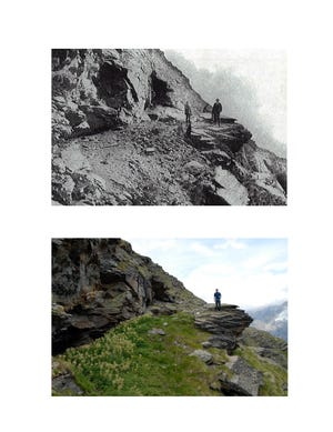 150 years after pioneering scientist and mountaineer John Tyndall climbed Weisshorn in Switzerland, Montana State University professor Michael Reidy followed in his footsteps.