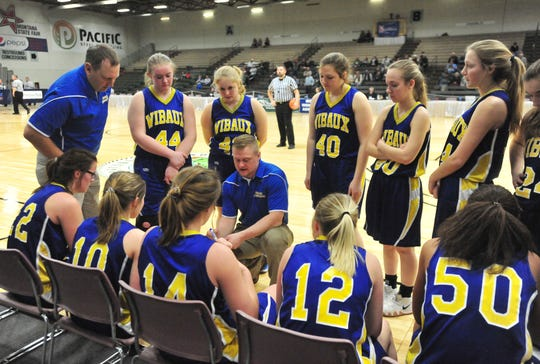 The Wibaux Longhorns of coach Travis Bertelsen advanced with a loser-out victory over Arlee Friday as the State C girls' tournament continued at Pacific Steel and Recycling Four Seasons Arena.