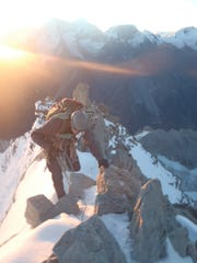 Dennis Dueñas climbs Weisshorn in Switzerland in the path of history's great mountaineering scientists.