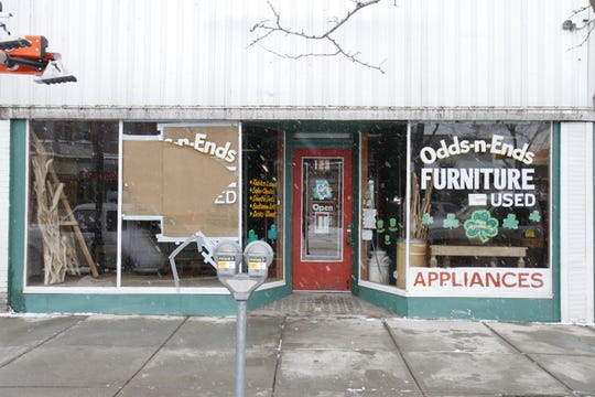 Odd 'N Ends will remain open while tending to damages.