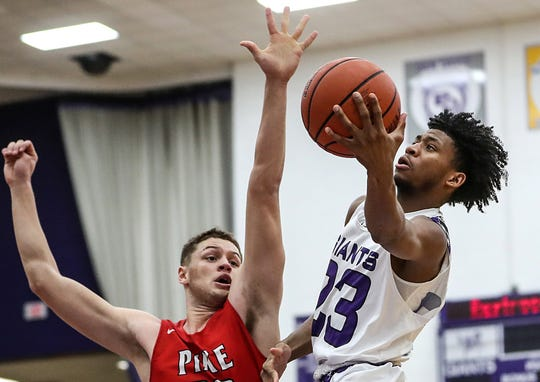 Pike and Ben Davis will meet for a third time this season in Friday's sectional semifinal.