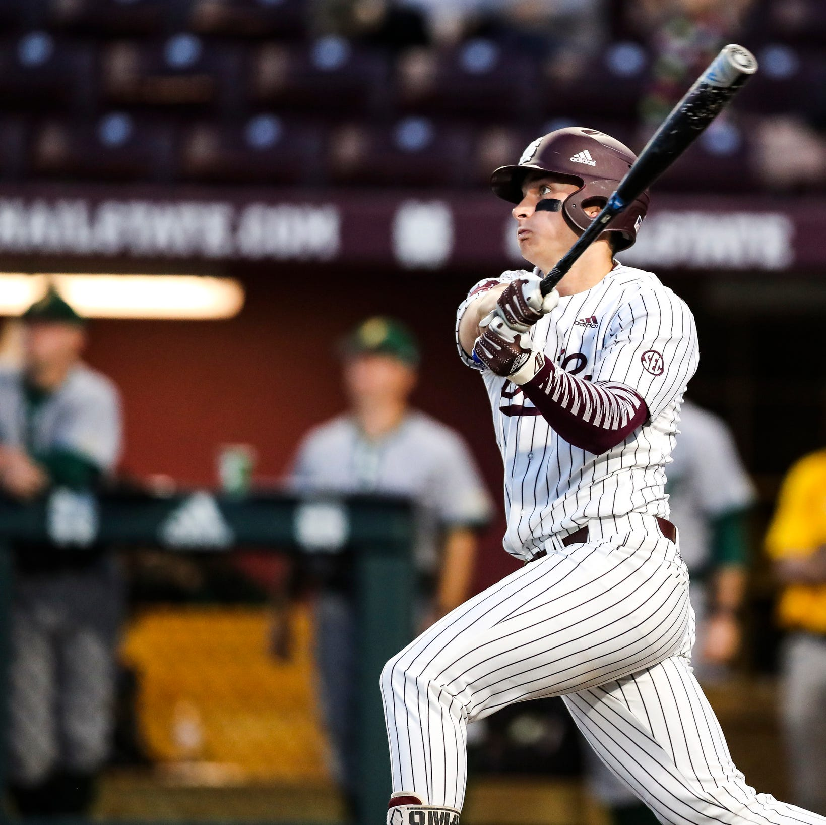 See Mississippi State's Gunner Halter's hit to end longest SEC Baseball Tournament game