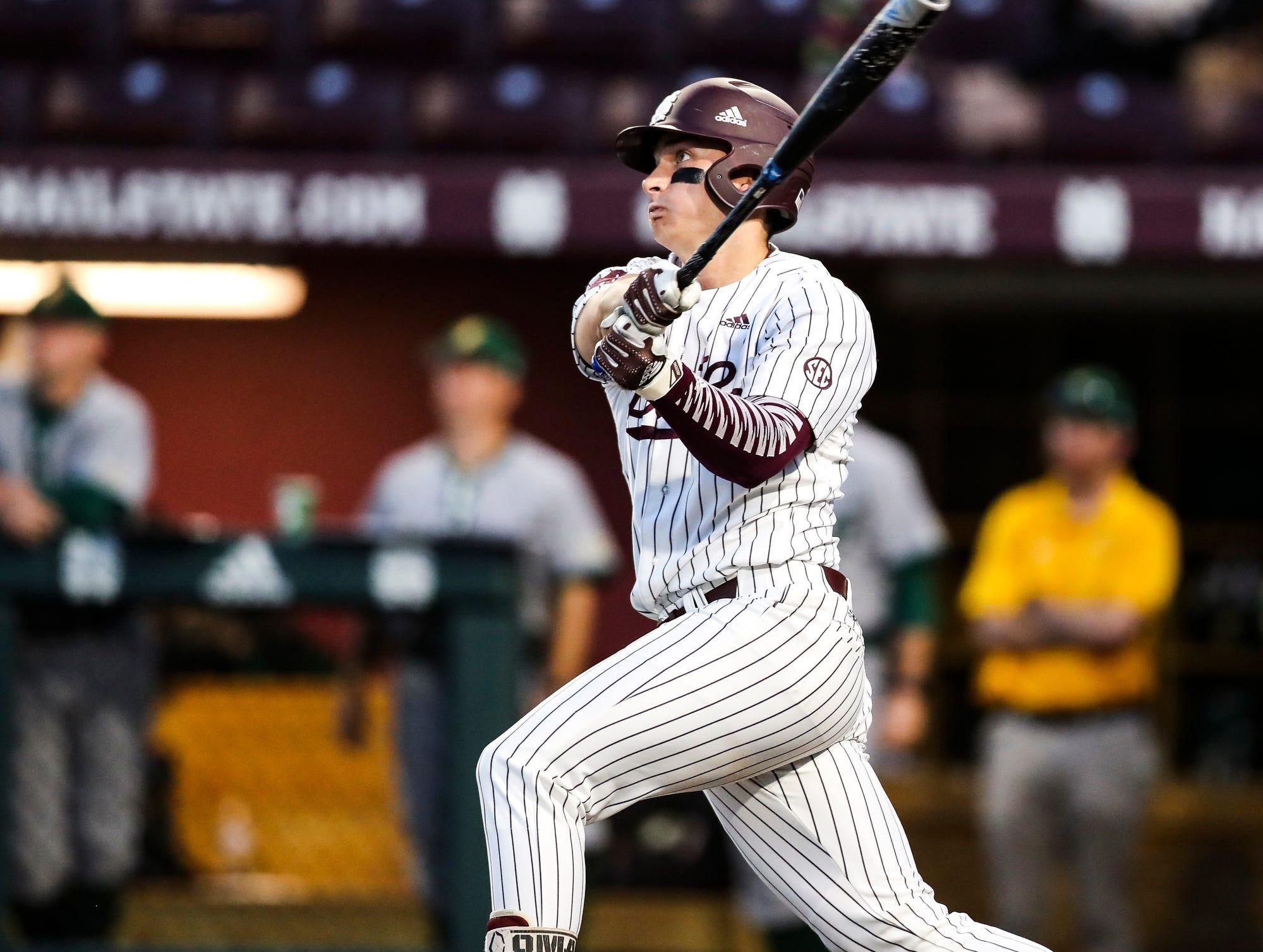 See Mississippi State's Gunner Halter's hit to end longest SEC Baseball Tournament game