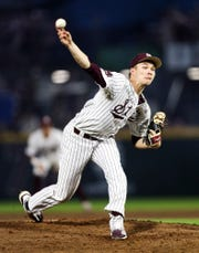 Mississippi State pitcher Peyton Plumlee said this Bulldogs team is the best baseball team he's ever played on at any level. Plumlee pitched six solid innings in a win over Southeastern Louisiana on Wednesday night.