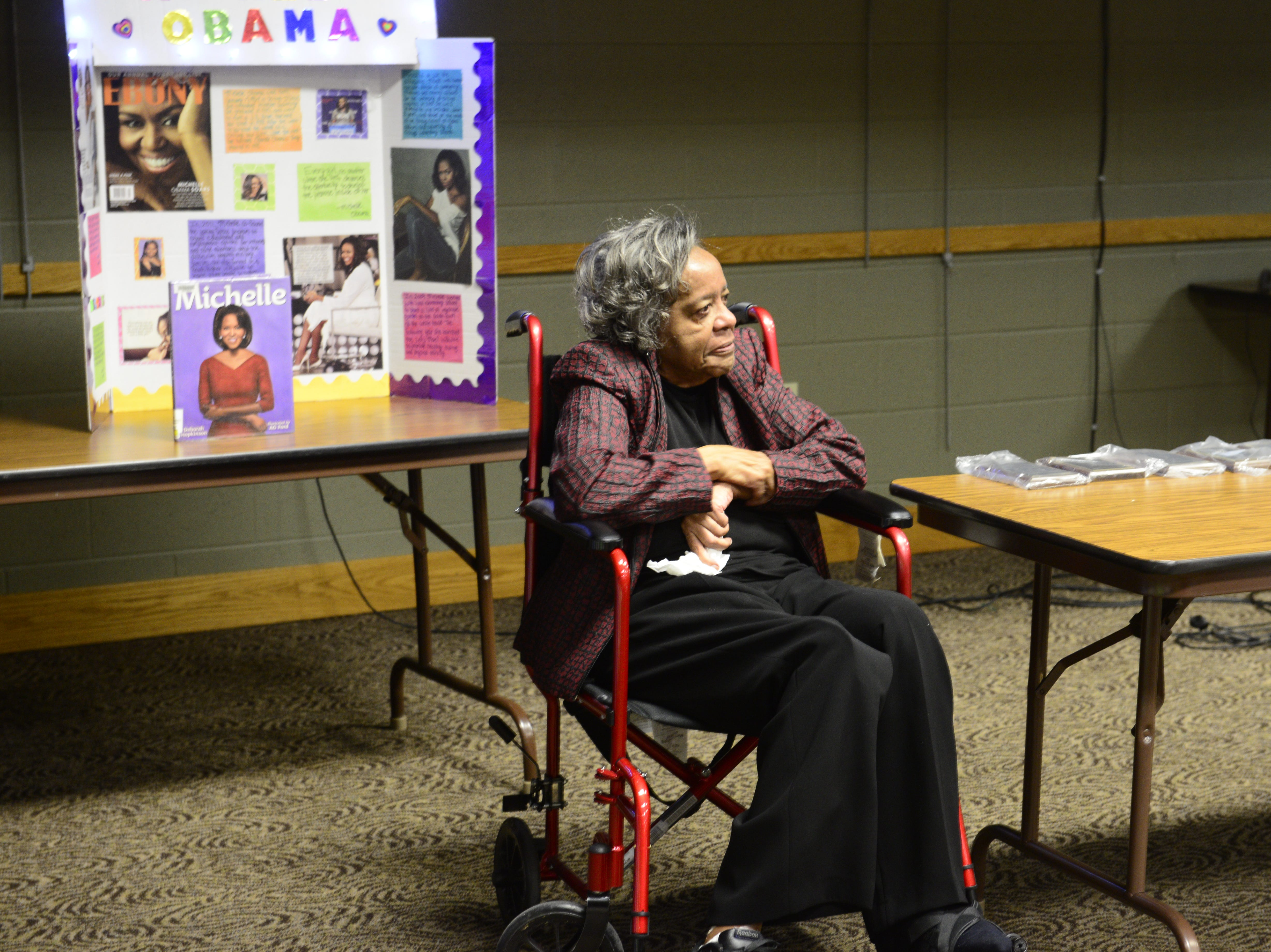 Vivian Mercer was honored as a pioneer of civil rights in Jackson at the Jackson-Madison County Library in Jackson, Tenn. Feb. 27, 2019