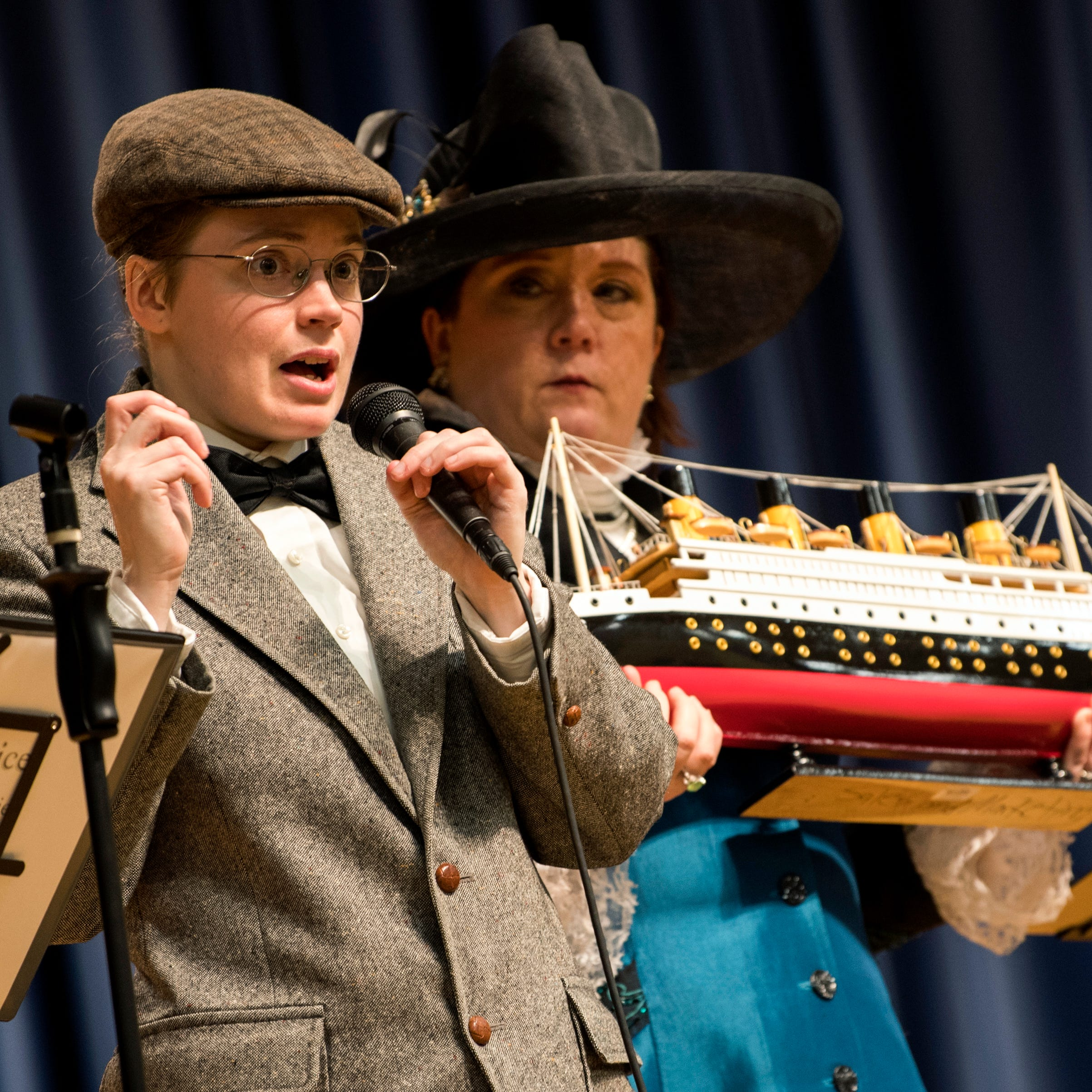 Near, far, wherever kids are: Virtual tours, in-school theater part of Titanic Museum program