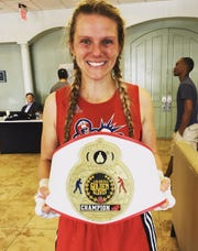 Candice Walls aims to repeat as Louisiana Golden Gloves champion this weekend.