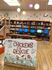 Students at Alice Boucher Elementary read books about chickens as they watched real chickens incubate and hatch in their school library over the last few weeks. It was a way to make library time extra fun and infuse it with a little science, Principal Catherine Guillory said.