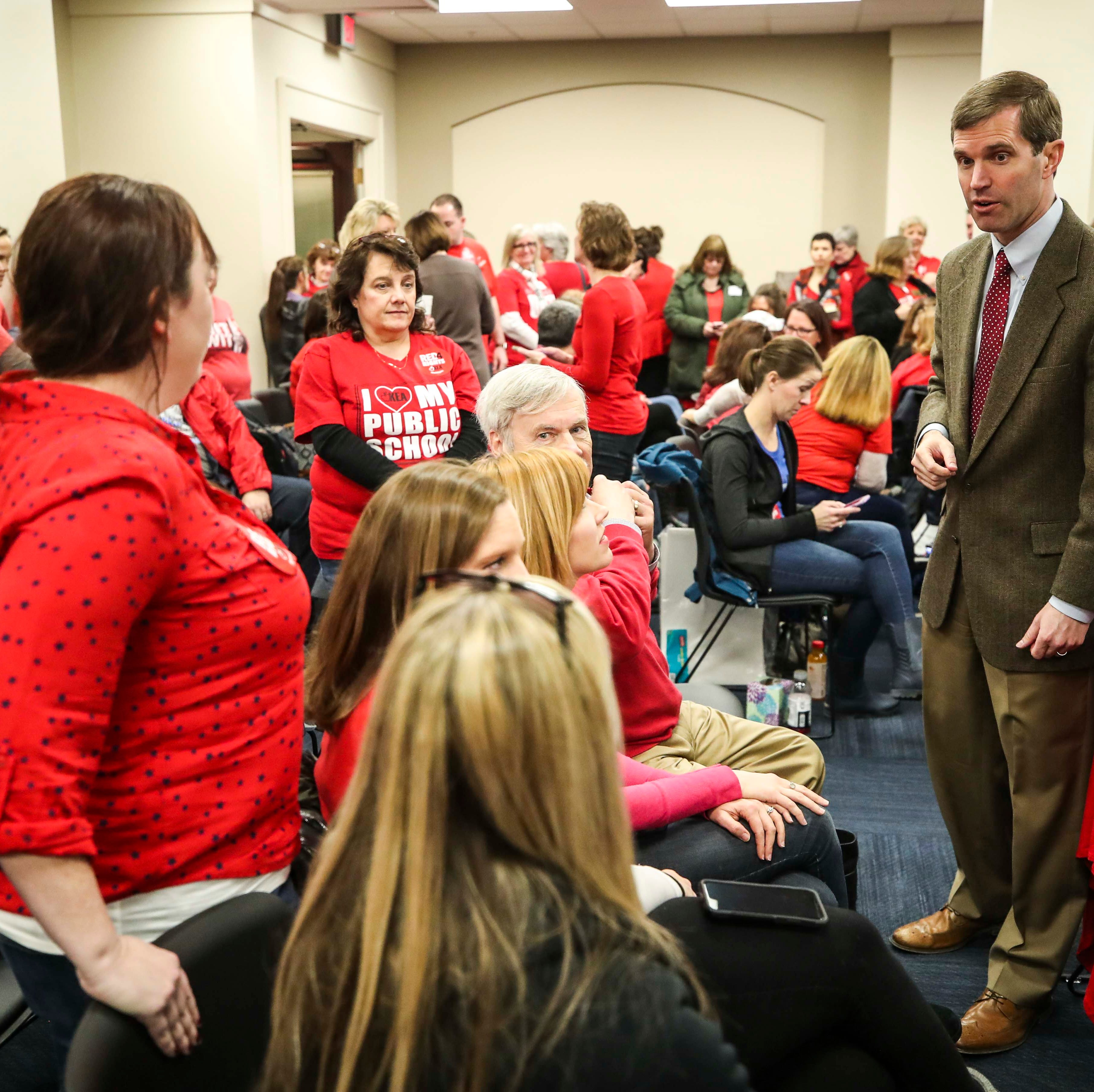 Kentucky teacher sickout subpoenas are illegal and must be withdrawn, Beshear says