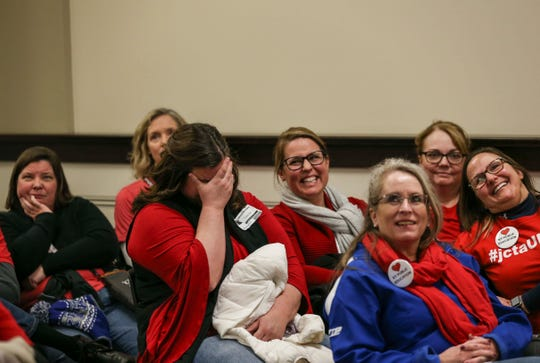Expressions and feelings seemed to range from incredulous, anger and dismay for teachers who packed an overflow room to watch as House Bill 525 was introduced Thursday afternoon in Frankfort. Hundreds of teachers packed the capitol to protest the bill authored by Sen. Ken Upchurch.