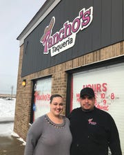 Ashley and Francisco Gutierrez spent three years building a customer base in Grand  Ledge at their food truck. Now the couple is opening a restaurant of the same name, Pancho's Taqueria, in Delta Township.
