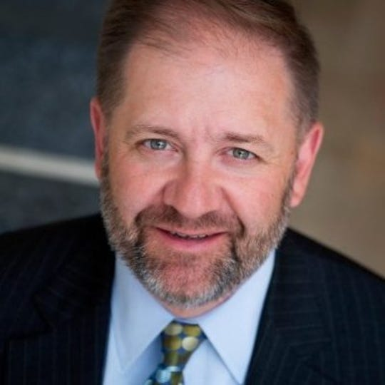 Bob Paduchik, senior adviser to the 2020 Trump campaign, spoke at the Richland County Republican Party's Lincoln Day Dinner on February 28, 2019.