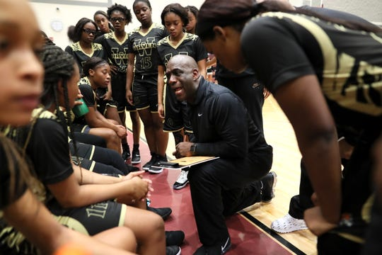 Whitehaven girls basketball coach Lynn Smith defended his team scoring 110 points against Kingsbury.