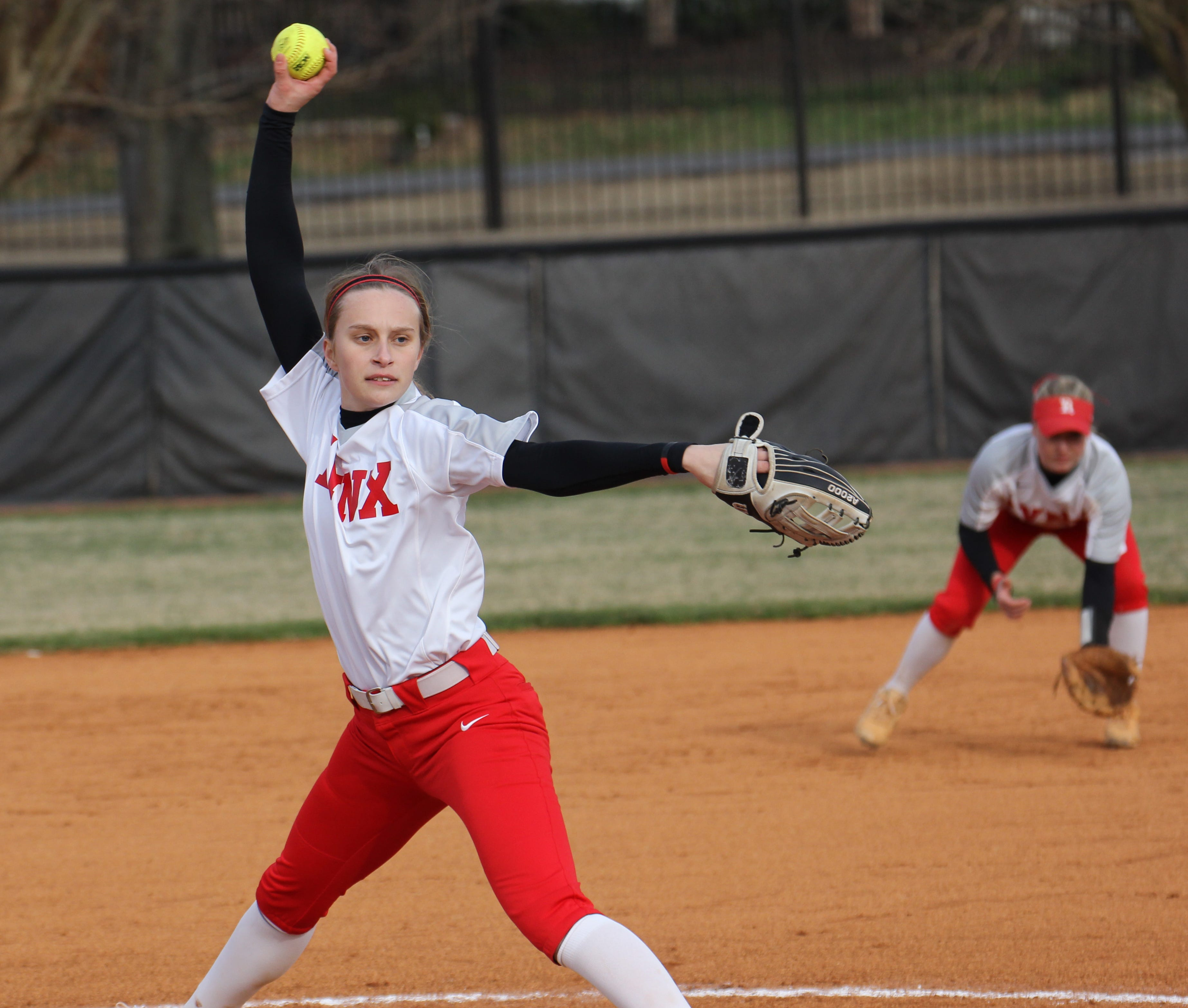 Rhodes College's Lauren King opened the 2019 softball season with two straight SAA Pitcher of the Week honors.