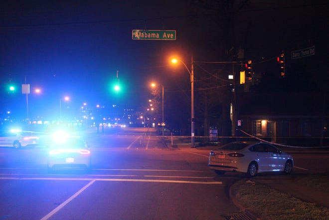 1 person is dead and another injured after a Wednesday night shooting along Alabama Avenue, police said.