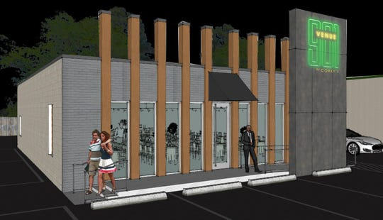 A rendering of what Corky's new Venue 901 will look like once it opens on April 1.