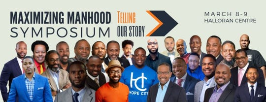 "The inaugural ""Maximizing Manhood"" symposium will be held from March 8 through March 9 at the Halloran Centre at the Orpheum Theatre."