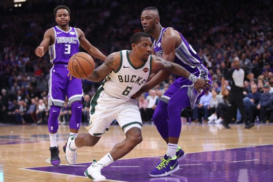 The Kings had no way of slowing down Eric Bledsoe on Wednesday night as the guard recorded his second triple-double as a member of the Bucks with 26 points, 12 rebounds and 13 assists.