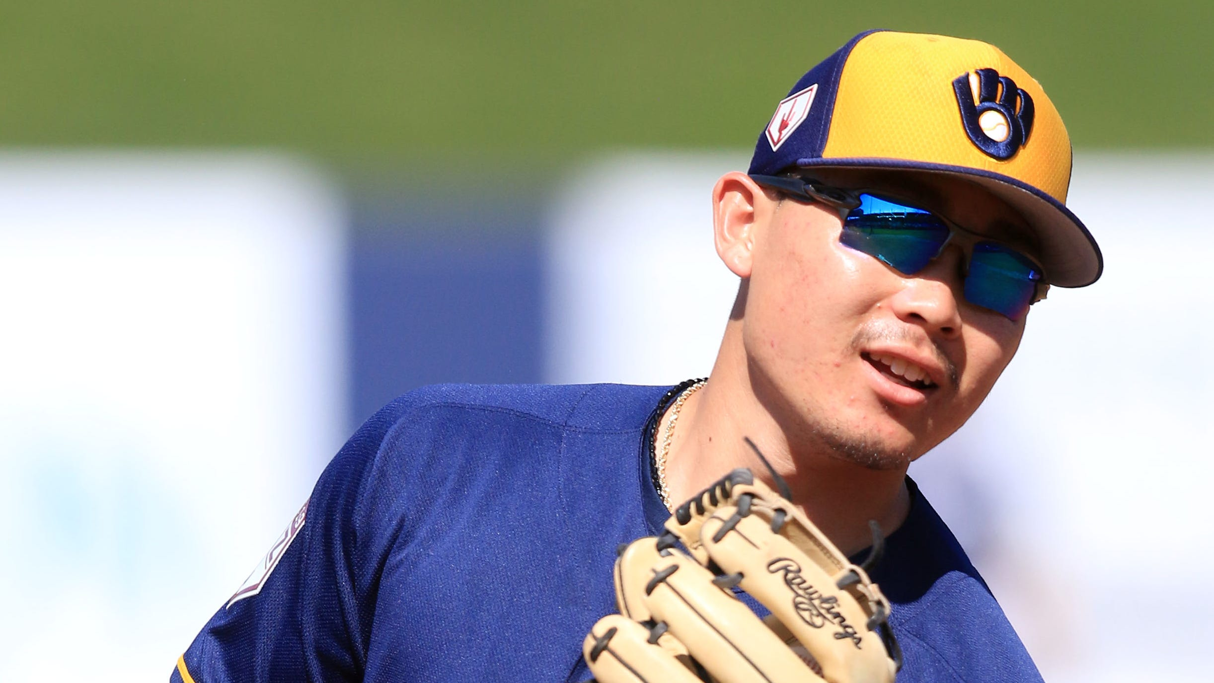 Brewers top prospect Keston Hiura is off to a strong start and is a step away from the big-league club