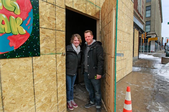 Dana and Jeff Redmon plan to operate Scout, an art gallery that will include studios, at a building being redeveloped at 1104 W. Historic Mitchell St. Scout opens in May.