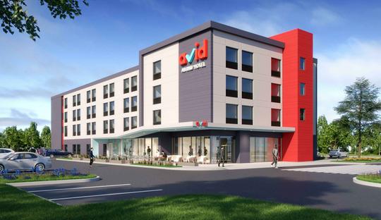 The new Avid hotel chain is proposing its first Milwaukee-area location for a site in Waukesha.