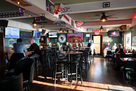 Tables begin to fill up for the Friday fish fry at Natty Oaks Pub & Eatery, 11505 W. National Ave. in West Allis.