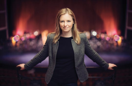 Gemma New will conduct Milwaukee Symphony concerts Feb. 28 and 29, 2020.