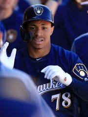 Corey Ray is on the injured list at Class AAA San Antonio with an injured right ring finger.
