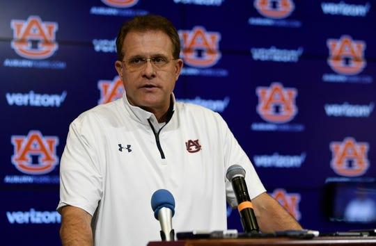 Auburn coach Gus Malzahn.