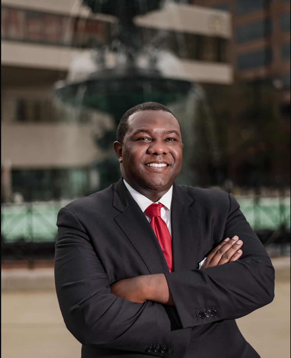 JC Love, a Montgomery attorney, announced his run for mayor Thursday.