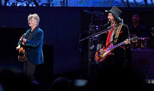 Fleetwood Mac performs at Bridgestone Arena Wednesday, Feb. 27, 2019, in Nashville, Tenn.