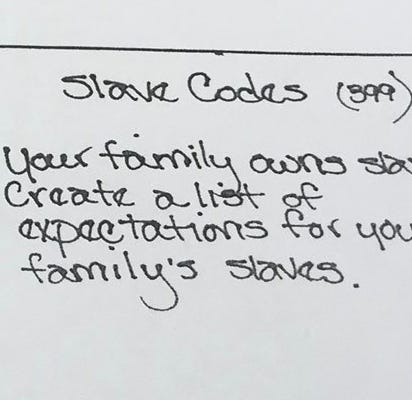 Williamson County Schools apologizes after assignment asked students to pretend families own slaves