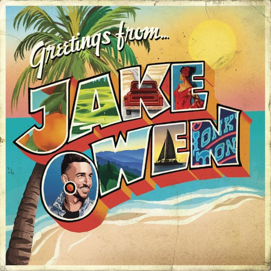 Jake Owen will release his 'Greetings from ... Jake' on March 29.