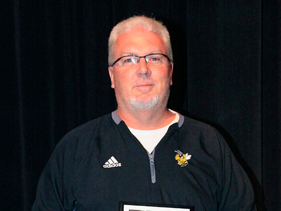 Fairview High School's Ron King was named School's Region 6 AAA 2018 Super Region Team Assistant Coach of the Year.
