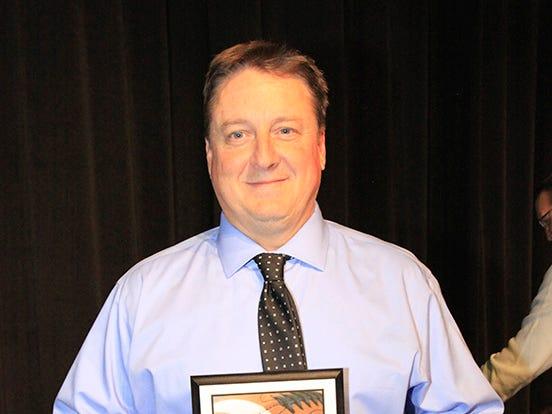 Fairview High School's Chris Hughes was named School's Region 6 AAA 2018 Super Region Team Coach of the Year.