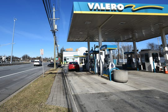 Valero on Route 17 North in Hasbrouck Heights are among gas stations in New Jersey whose prices have gone up in recent weeks.
