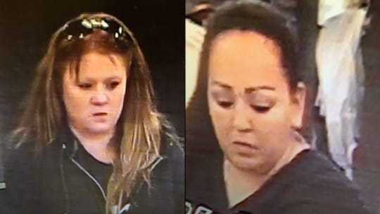 Authorities are seeking to ID these women, considered suspects in a shoplifting spree in Las Cruces.