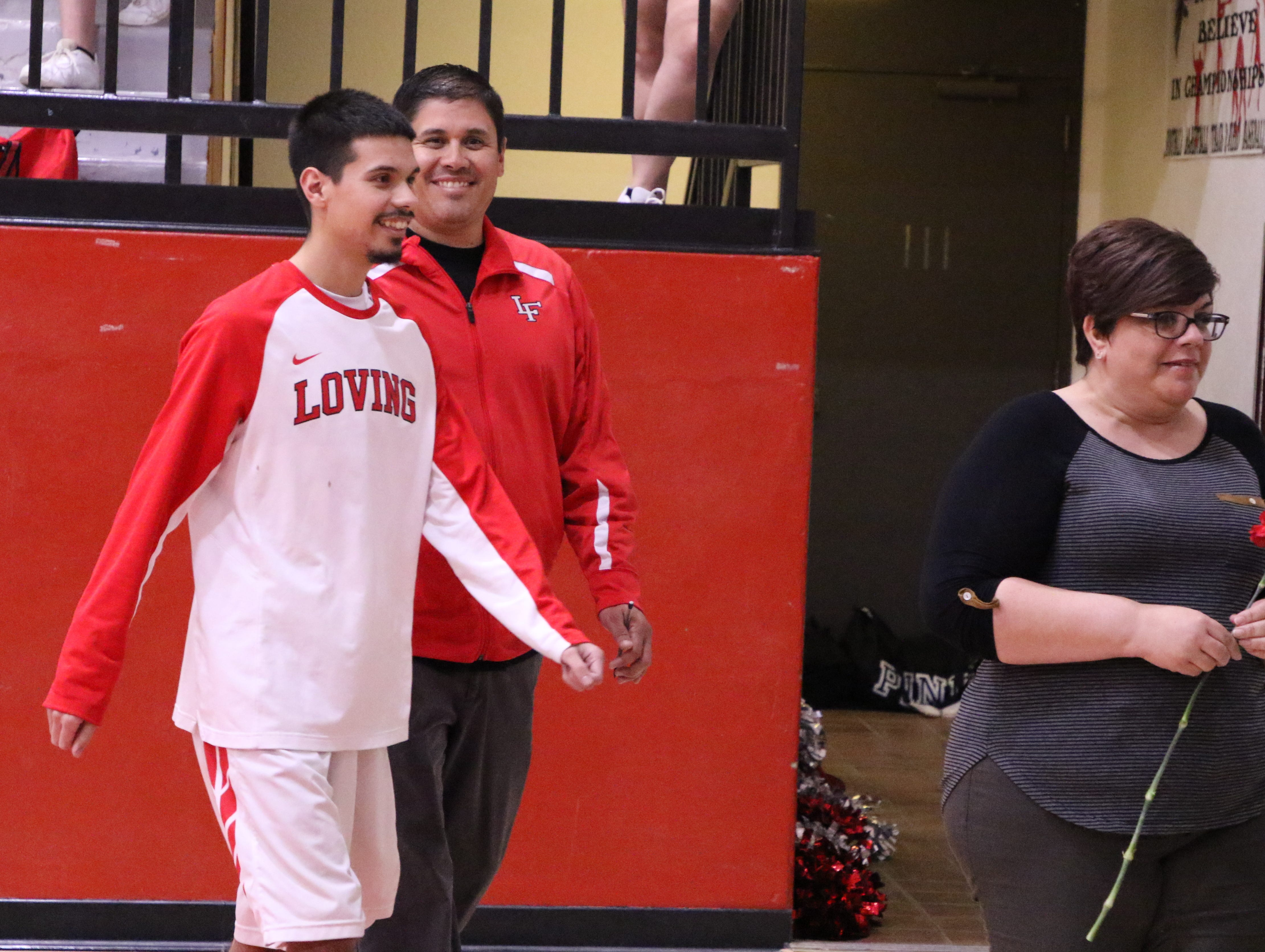 Photo highlights of Loving's Parent Night against Jal on Feb. 19.