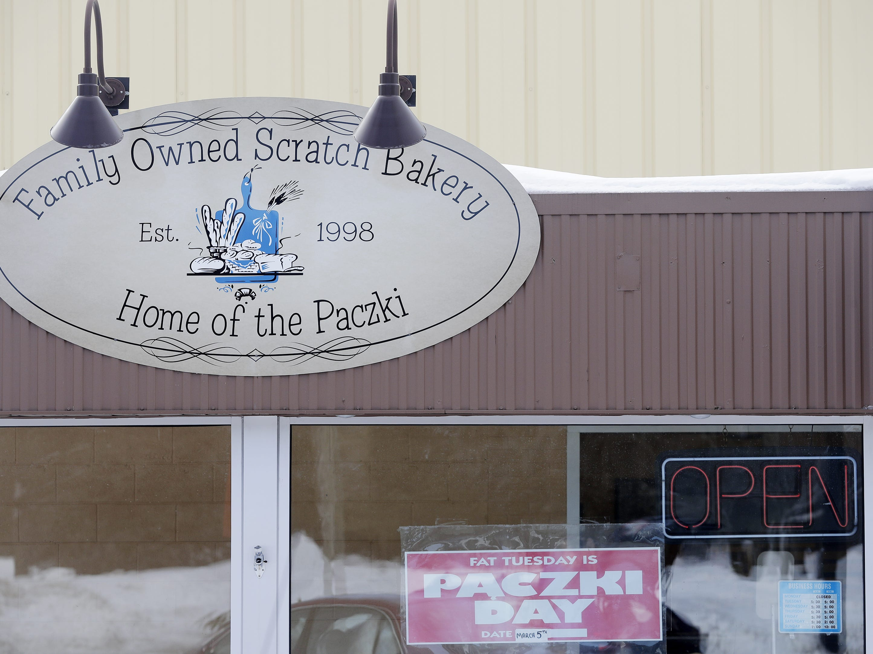 Smurawa's Country Bakery is shown on Tuesday, Feb. 26, 2019, in Pulaski.