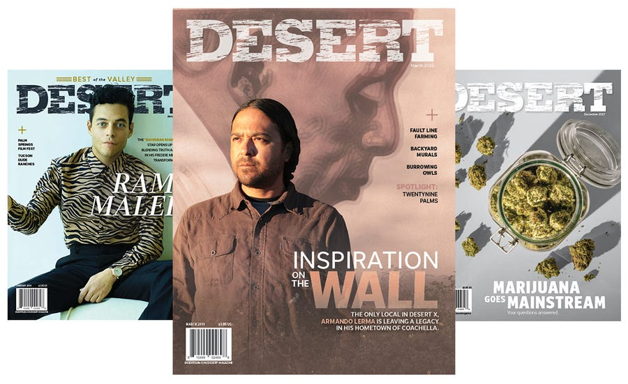 DESERT magazine back issue are now on sale