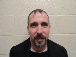Christopher Joseph Ray, sexual abuse of a minor, born on 3/19/1969, male, 5-foot-4, primary residence reported as 300 block E. Main St., Westminster.